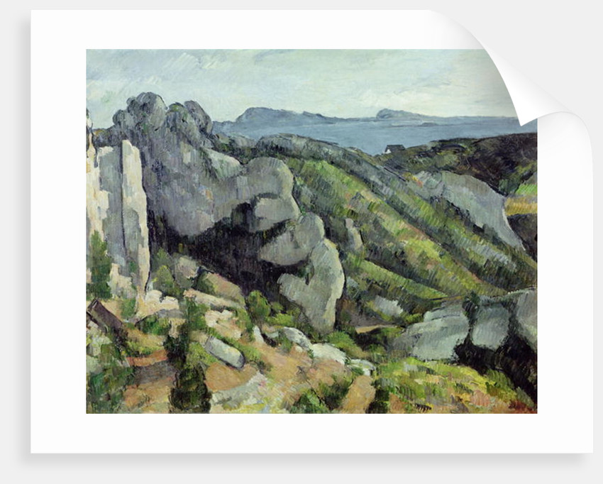 Rocks at L'Estaque by Paul Cezanne