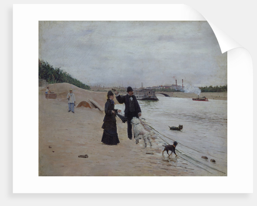 The Banks of the Seine by Jean Beraud