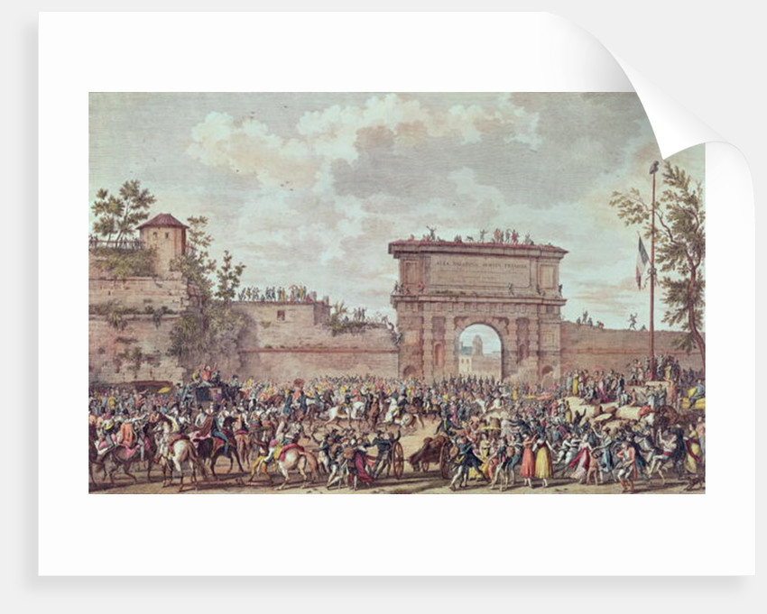 The Entry of the French into Milan, 25 Floreal An IV by Antoine Charles Horace Vernet