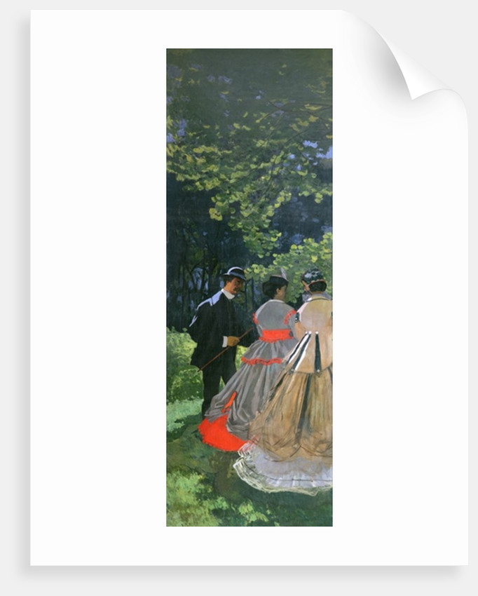 Dejeuner sur L'Herbe, Chailly by Claude Monet