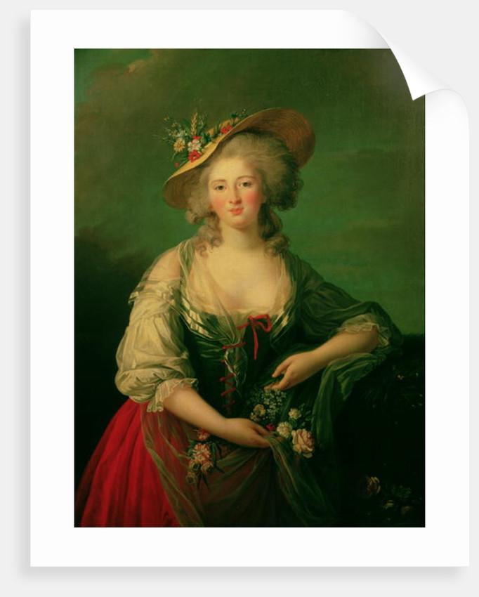 Elisabeth of France called Madame Elizabeth by Elisabeth Louise Vigee-Lebrun