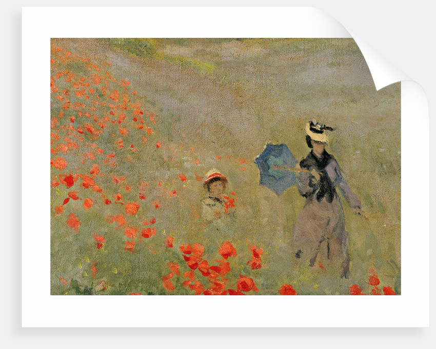 Wild Poppies, near Argenteuil by Claude Monet