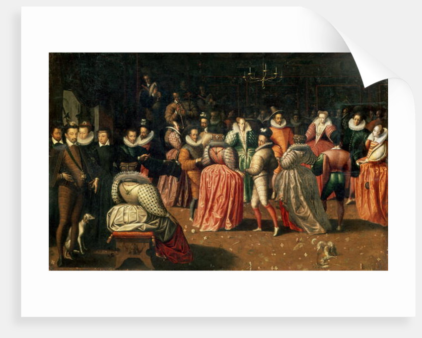 Ball at the Court of King Henri III of France, or Ball of the Duke of Alencon by French School