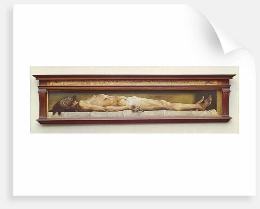 The Dead Christ, 1521 by Hans (after) Holbein the Younger