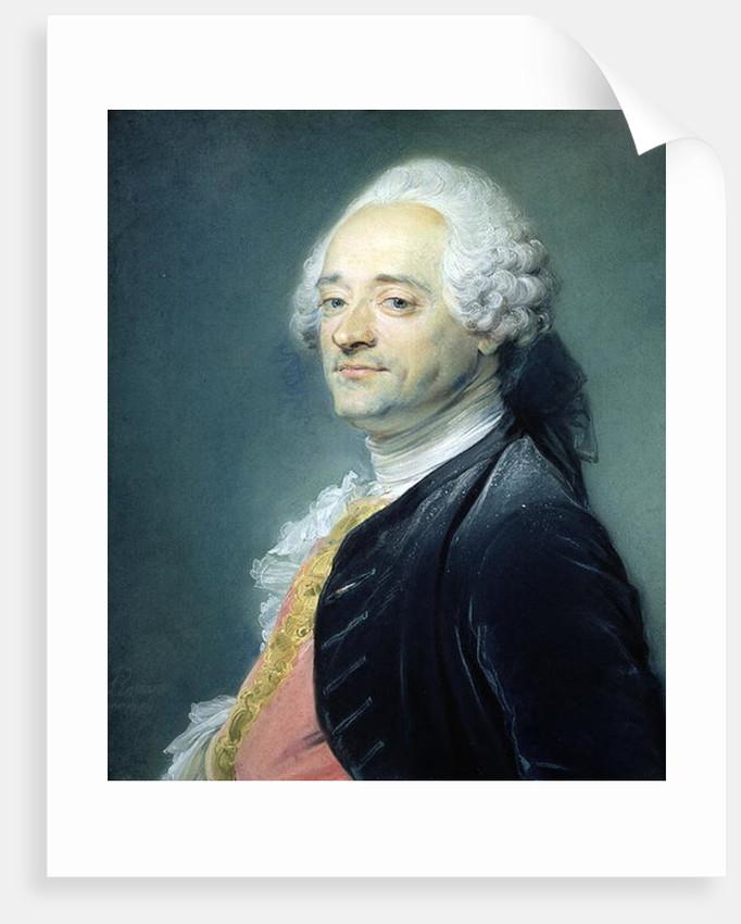 Portrait of Maurice Quentin de la Tour by Jean-Baptiste Perronneau