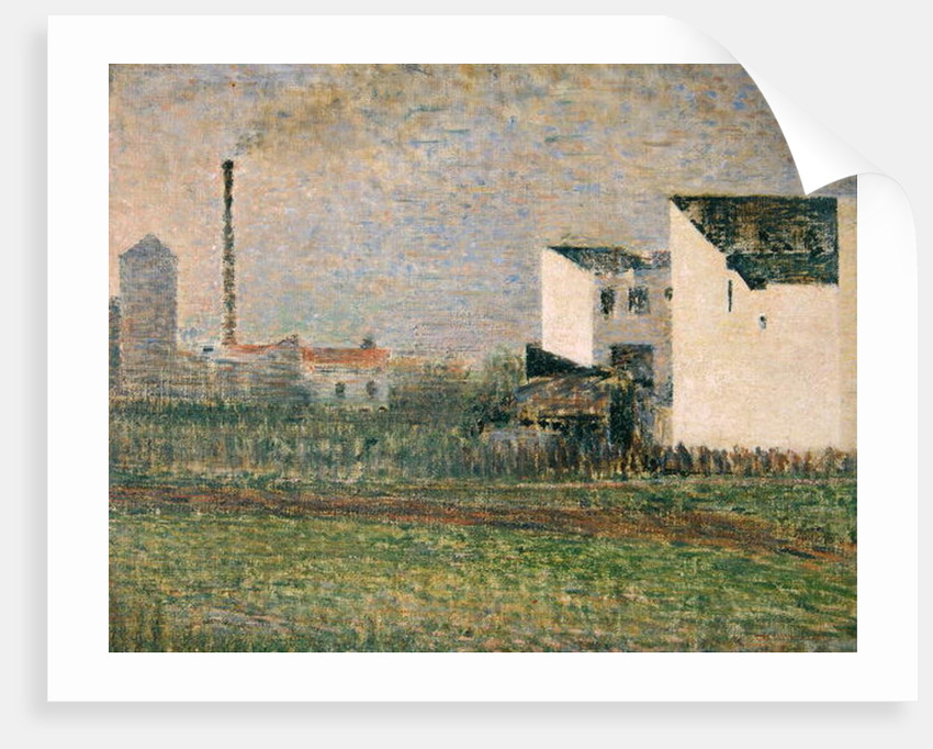 Suburb by Georges Pierre Seurat