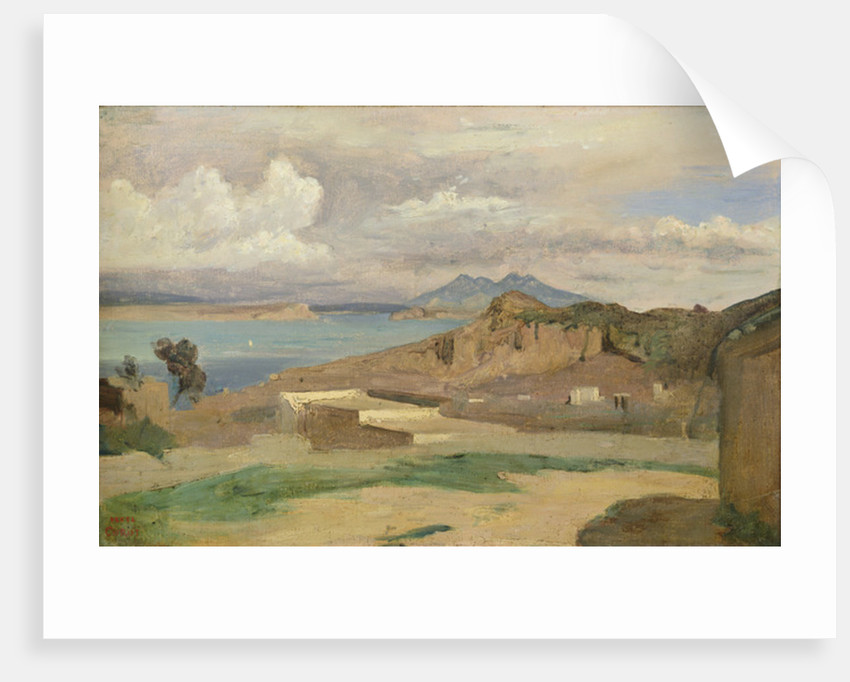 Ischia, View from the Slopes of Mount Epomeo by Jean Baptiste Camille Corot