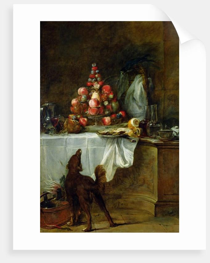 The Sideboard by Jean-Baptiste Simeon Chardin