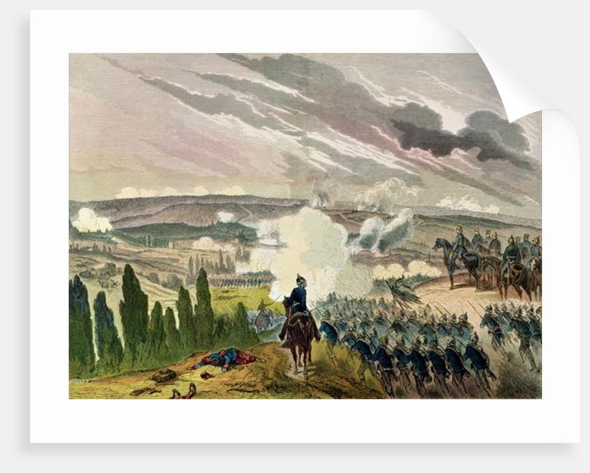 The Battle of Sedan by German School