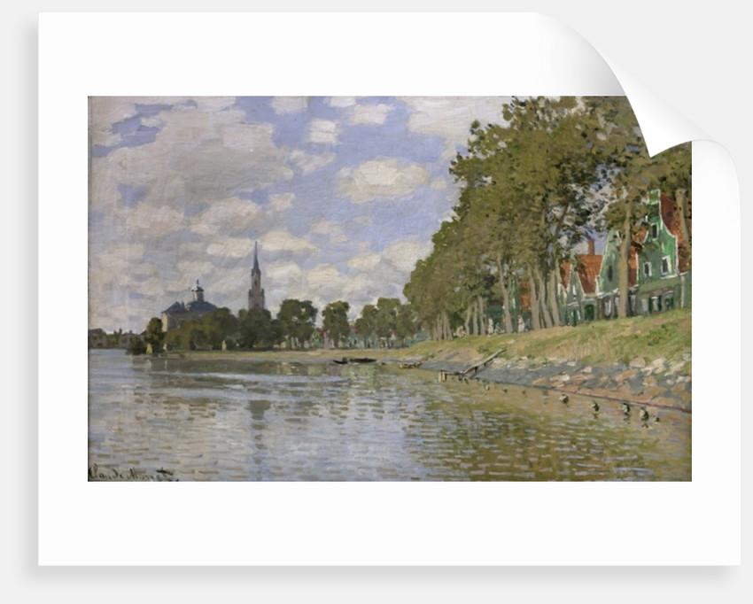 Zaandam (Holland) by Claude Monet
