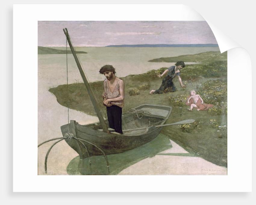 The Poor Fisherman by Pierre Puvis de Chavannes