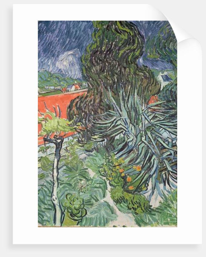 The Garden Of Doctor Gachet At Auvers Sur Oise Posters Prints By Vincent Van Gogh