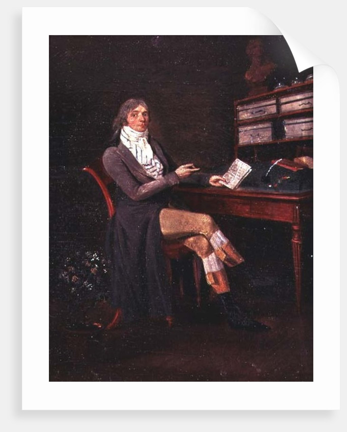 Portrait of Charles Maurice de Talleyrand-Perigord by Jean Francois Garneray
