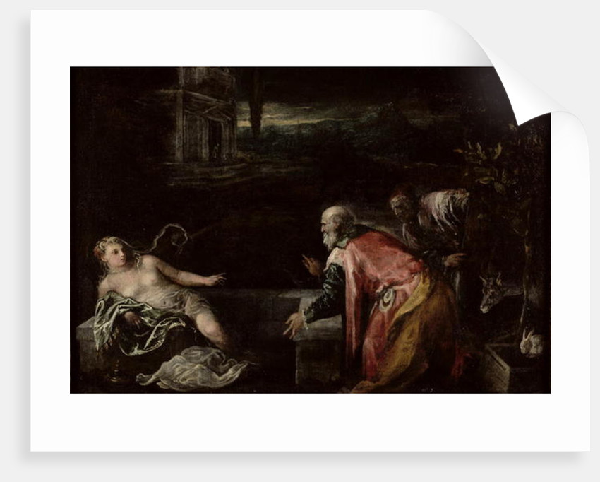 Susanna and the Elders by Jacopo Bassano