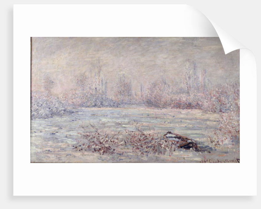 Frost near Vetheuil by Claude Monet