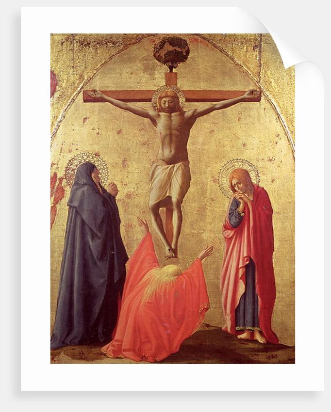 Crucifixion by Tommaso Masaccio