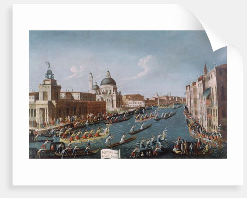 The Women's Regatta on the Grand Canal, Venice by Gabriele Bella