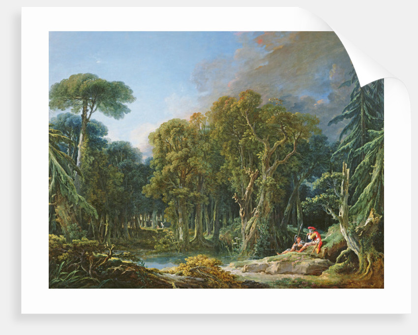 The Forest by Francois Boucher