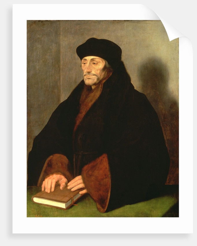 Erasmus of Rotterdam by Hans Holbein the Younger