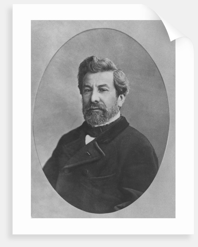 Portrait of Francois-Ambroise-Germain Gilbert by French Photographer