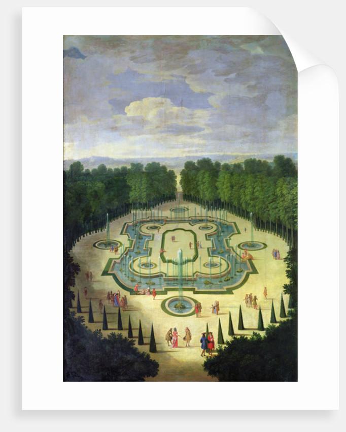 La Salle des Festins ou Salle du Conseil by Etienne Allegrain