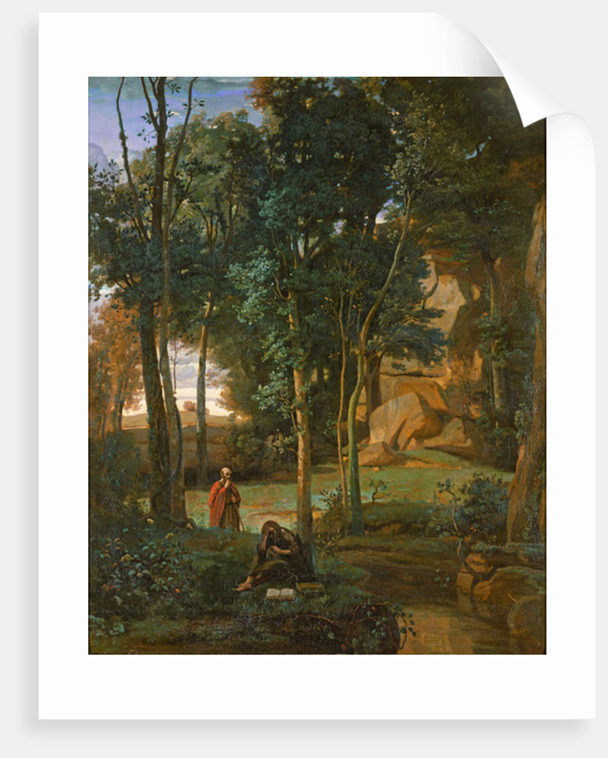 Democritus and the Abderites by Jean Baptiste Camille Corot