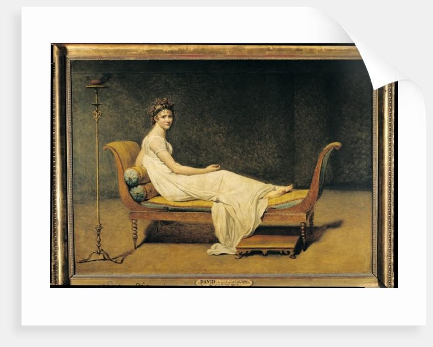 Madame Recamier by Jacques Louis David