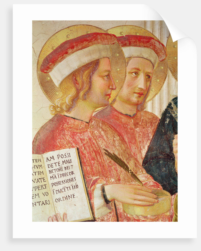 Madonna of the Shadow by Fra Angelico