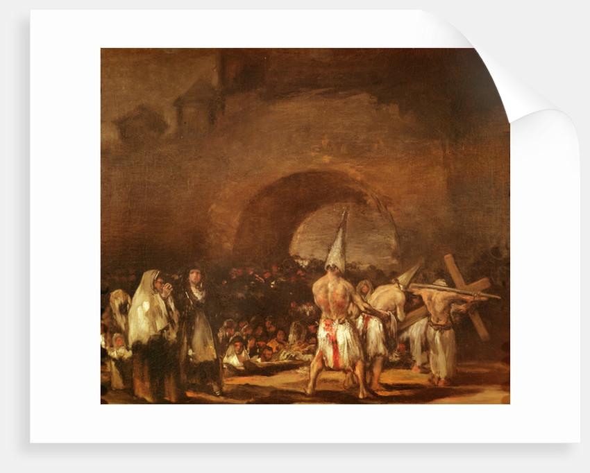 The Flagellants by Francisco Jose de Goya y Lucientes