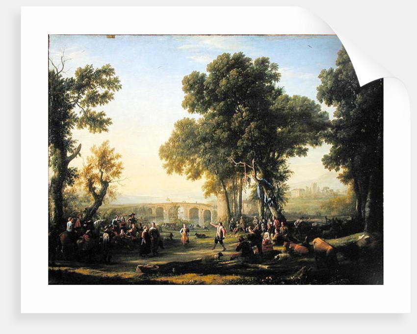 The Village Festival by Claude Lorrain