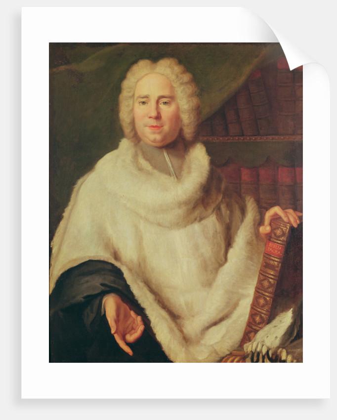Portrait of Abbot Desfriches by Unknown artist