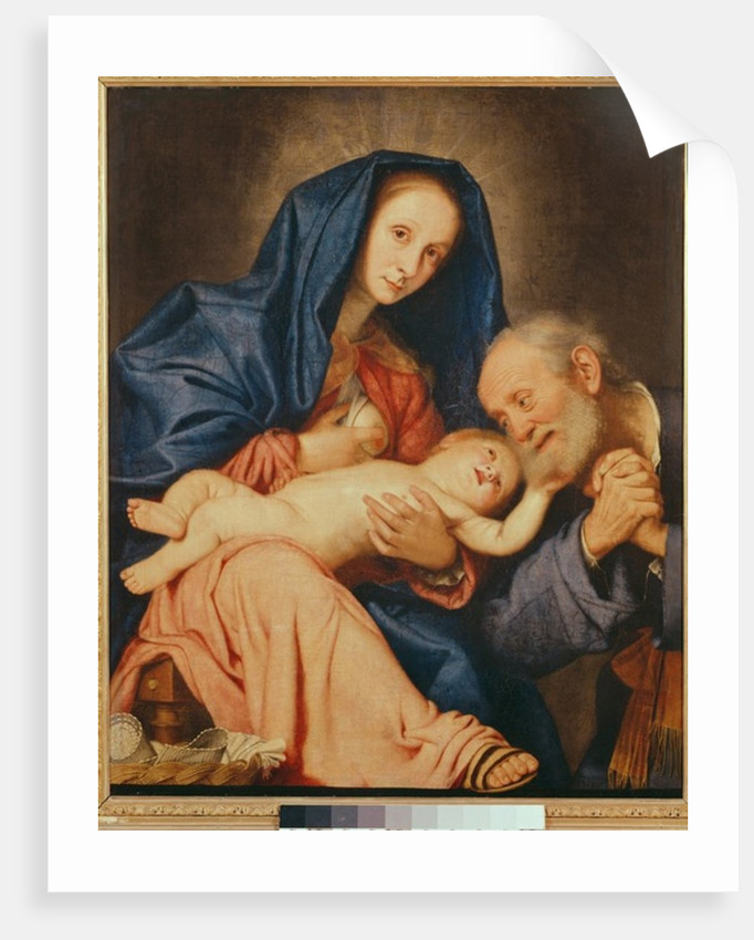 The Holy Family with a Basket by Il Sassoferrato