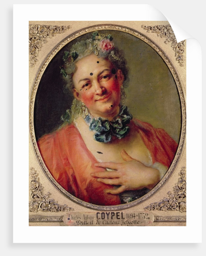 Portrait of the Singer Pierre de Jelyotte in Female Costume by Charles Antoine Coypel
