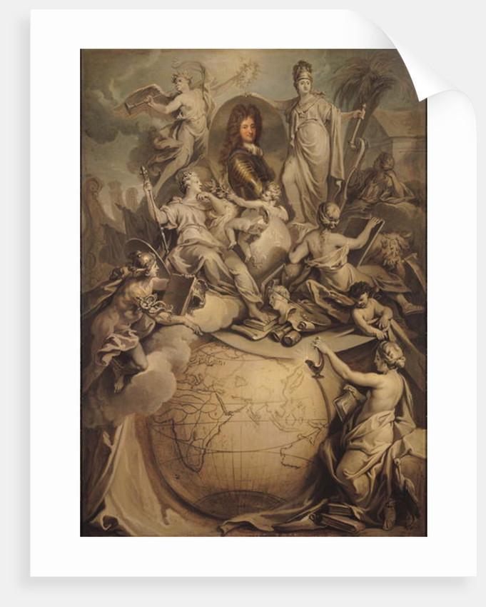 Allegory of Philippe II Duke of Orleans by Antoine Dieu