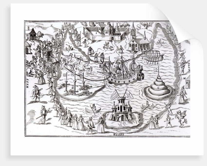The Elvetham Entertainment of 1593-94 from 'Progresses and Public Processions of Queen Elizabeth' by John Nichol by English School