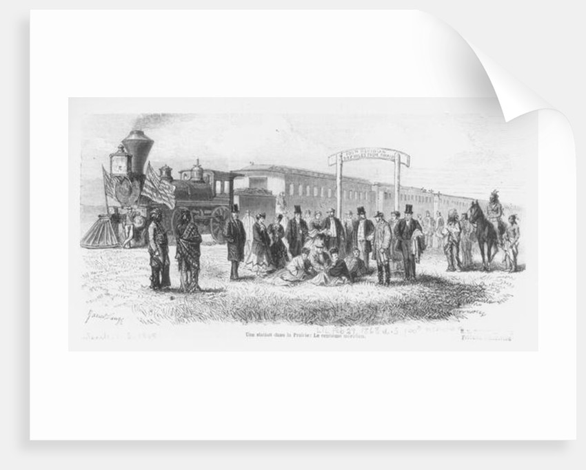 A Station in the Prairie: The 100th Meridian by American School