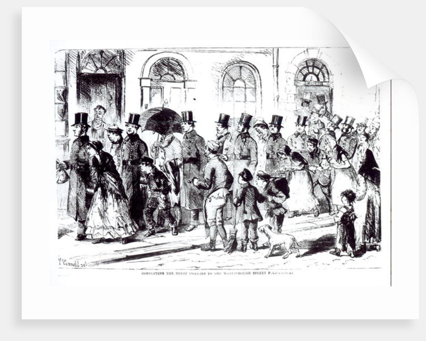 Conducting the Night Charges to the Marlborough Street Police Court by William McConnell