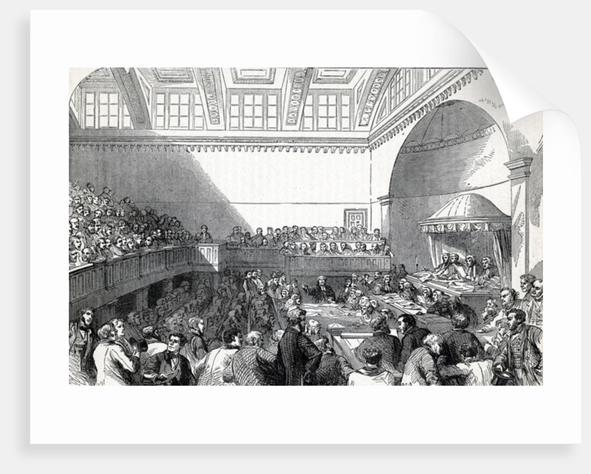The State Trial in Dublin by English School