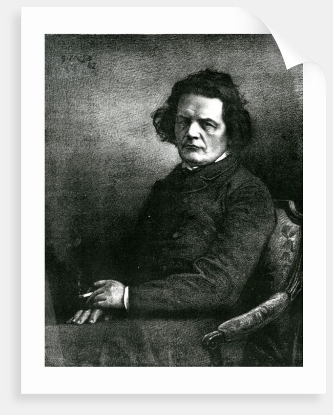 Portrait of Anton Rubinstein by Anonymous