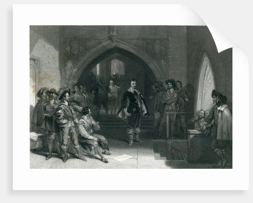 Arrest of Lord Strafford by English School