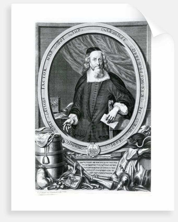 Samuel Oppenheimer by Johann Andreas Pfeffel