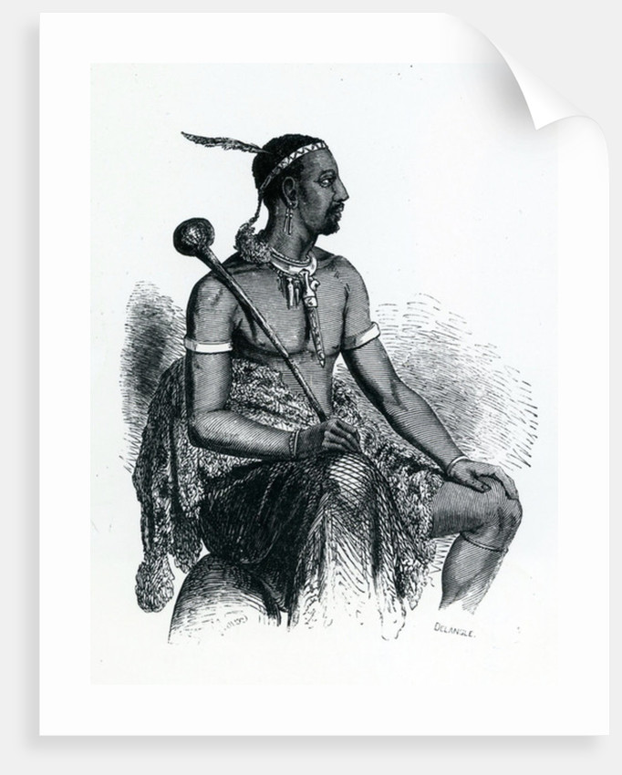 King Moshoeshoe I Posters Amp Prints By French School