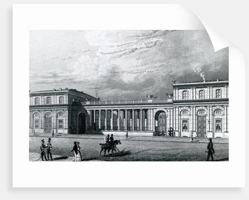 The Prinz-Albrecht-Palais by German School