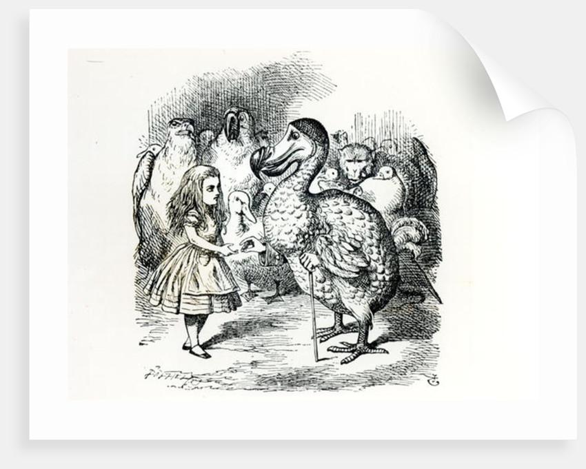 Alice meets the Dodo by John Tenniel