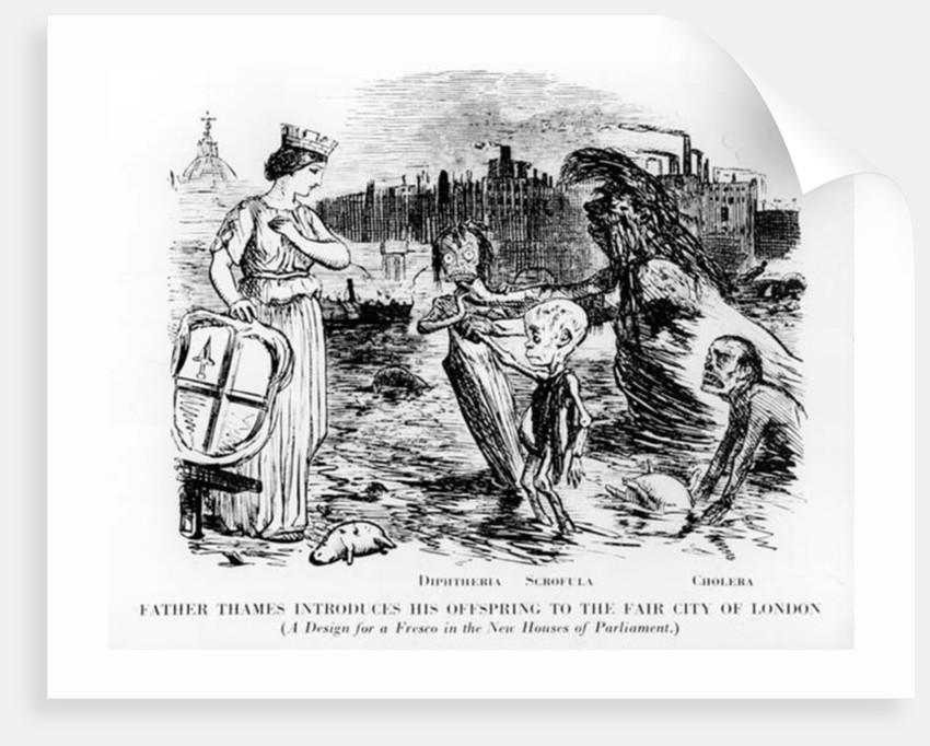 Father Thames Introduces his Offspring to the Fair City of London by English School