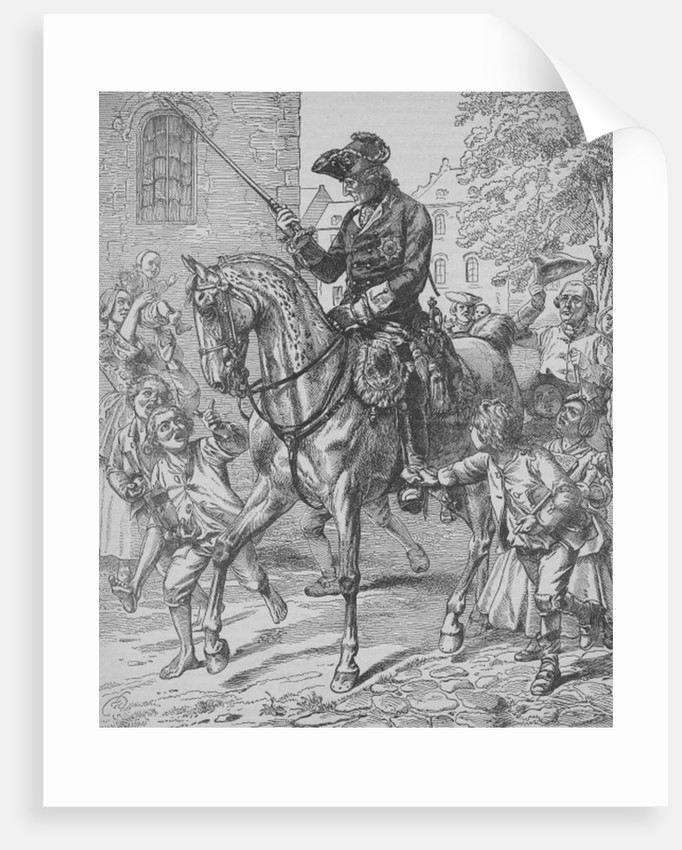Frederick the Great of Prussia by English School