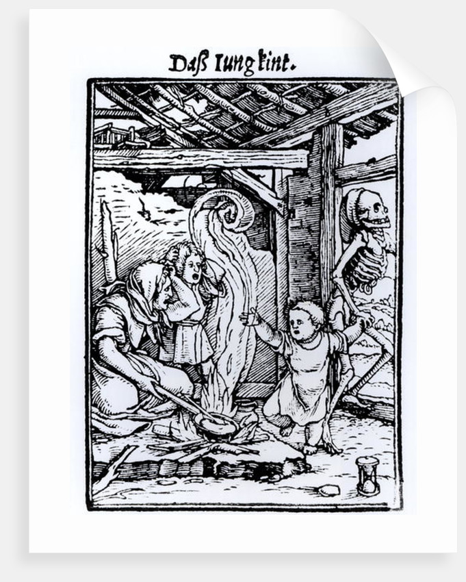 Death Taking a Child by Hans Holbein The Younger