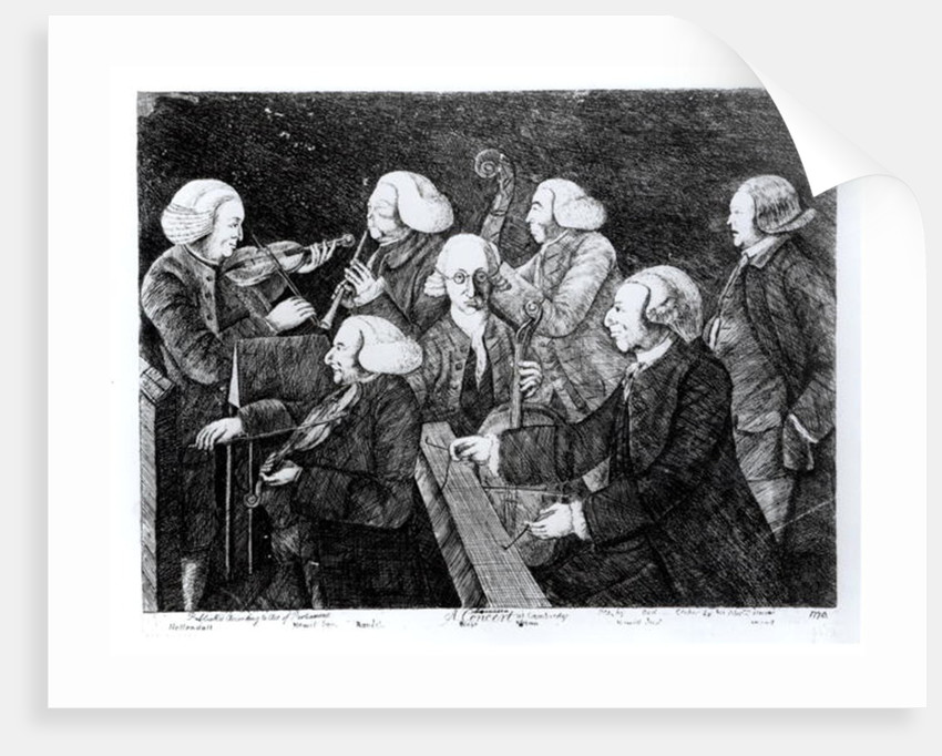 A Concert at Cambridge by English School