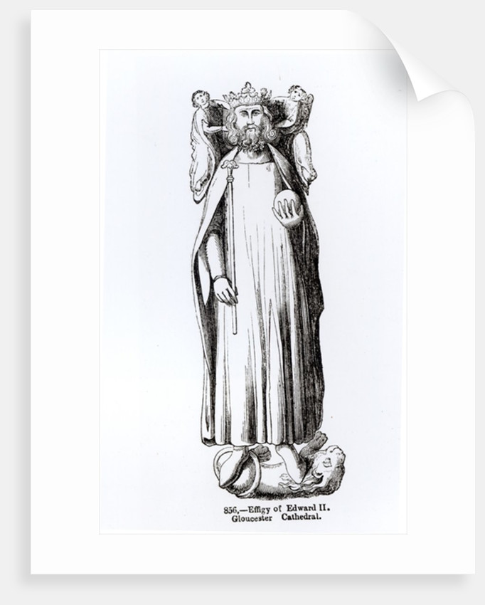 Effigy of Edward II from Gloucester Cathedral by English School