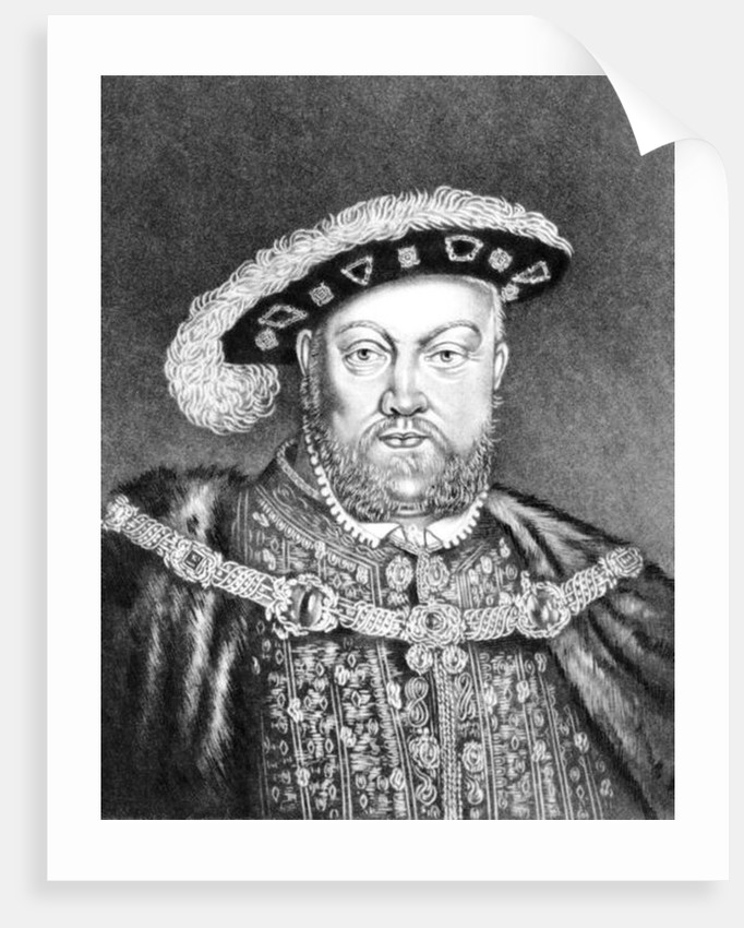 King Henry VIII by English School
